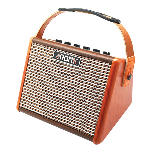 Aroma 15 Watt Acoustic Guitar Amplifier Amp, Portable Bluetooth Speaker