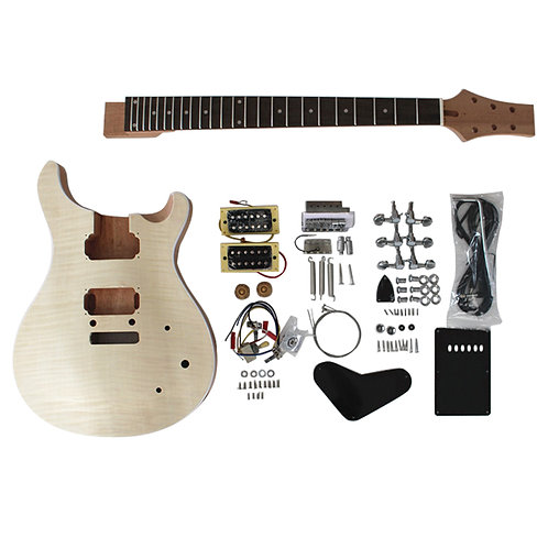 Custom PRS Style Electric Guitar DIY Kit