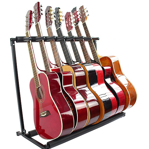 3, 5 or 7 Multi Guitar Rack Stands