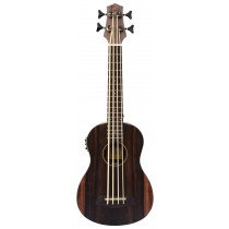ALOHA Striped Ebony With Round Wounds Acoustic-Electric U•BASS