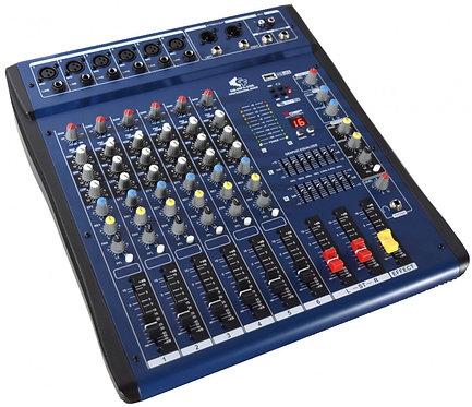 GRF SM SERIES - SM06FX-USB - 6 Channel Mixer