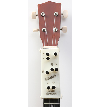Ukulele Chord Changer Device (Optional Song Book)