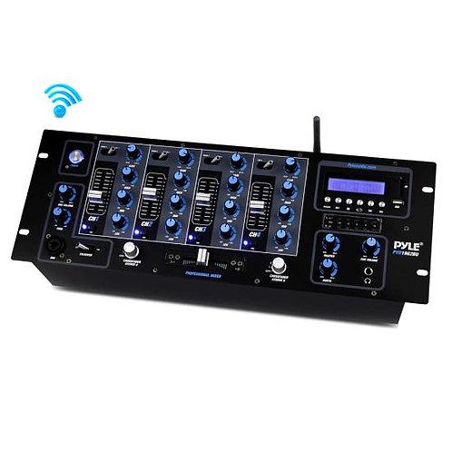 Pyle PYD1962BU Bluetooth 4-Channel DJ Mixer