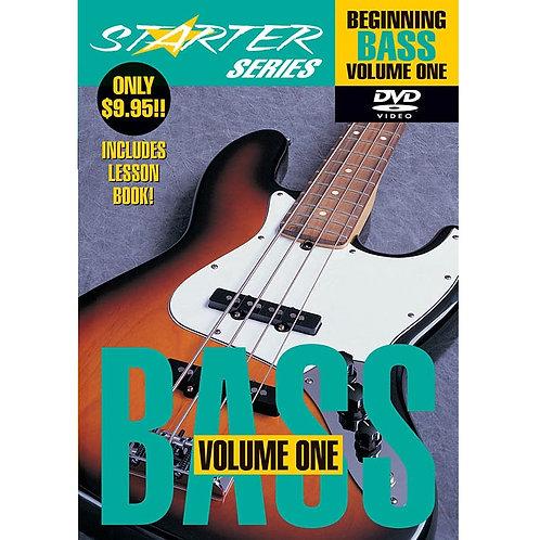 Beginning Bass Sarter Series Vol. 1 DVD by Hal Leonard