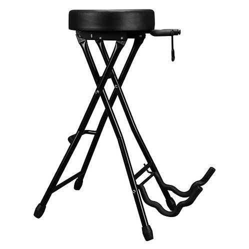 Guitar Stool & Stand with Footrest