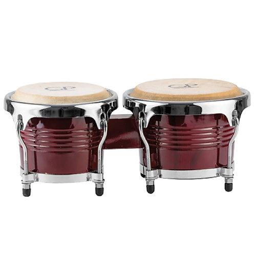 Granite Percussion 7 & 8 inch Bongo Set - Red Finish