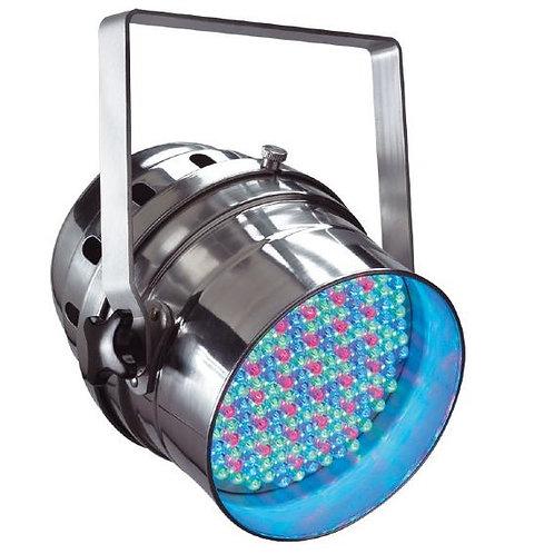 PAR 64 LED RGB DMX Polished Aluminium