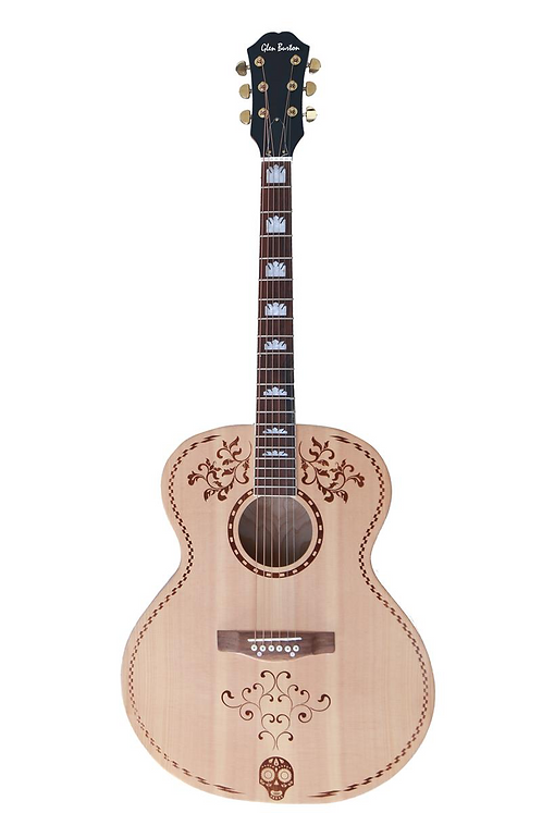 """42"""" Acoustic Guitar Solid Spruce Top"""