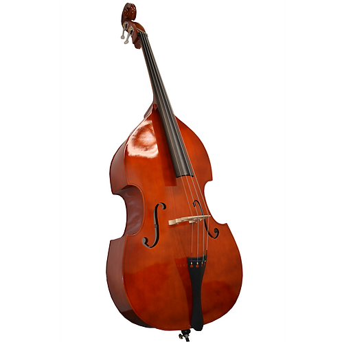 Upright Double Bass with Gig Bag