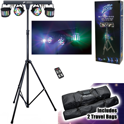 DJ PARTY LIGHT DELUXE SYSTEM COMPLETE