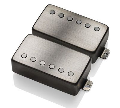 "EMG JH ""HET"" Set (James Hetfield Signature Pickup Set) - BRUSHED BLACK CHROME"