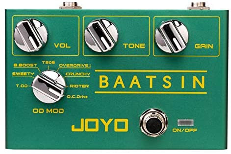 JOYO R-11 Baatsin 8 Multi Overdrive & Distortion Pedal Effect