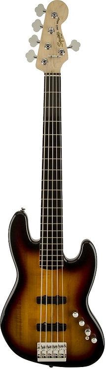 FENDER Squier Deluxe 5-String Active Jazz Bass - Sunburst