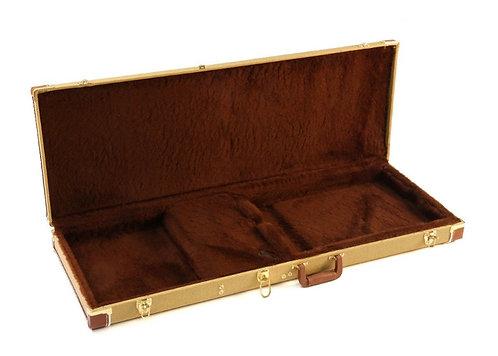Deluxe Tweed Rectangular Guitar Case