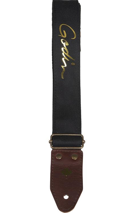 Godin Denim Black/Gold Strap 049035