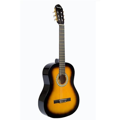 Huntington 39-SUNBURST Full Size Classical Guitar