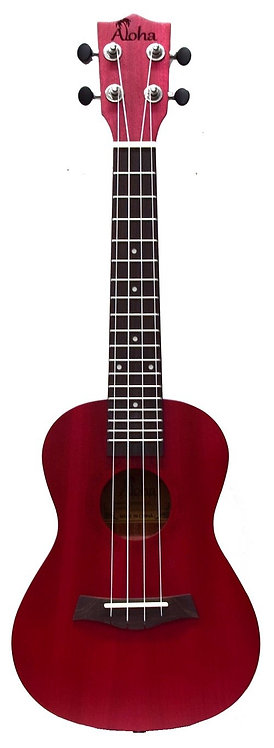 Aloha Tenor Ukulele Coloured Matt Finish