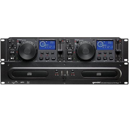 Gemini CDX-2250i Dual CD Player
