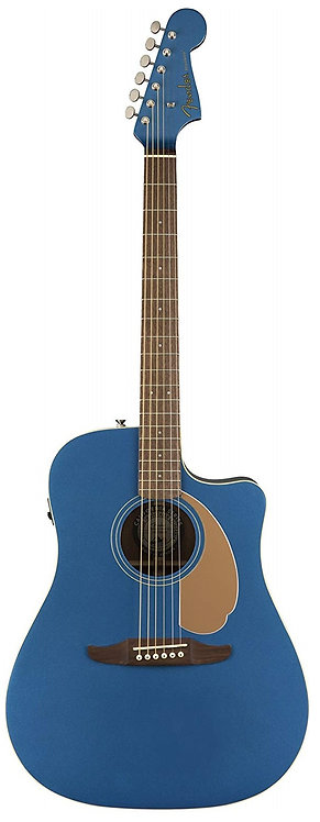 Fender Redondo Player – California Series Acoustic Guitar - Belmont Blue