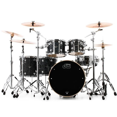 DRUM WORKSHOP DW Performance Series 6-piece Shell Pack - Black Diamond