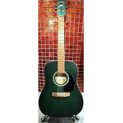Art & Lutherie Wild Cherry Acoustic Dreadnought Acoustic Guitar