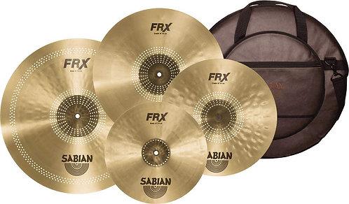 Sabian FRX PrePack Set with 14'' Hats, 16'' & 18'' Crash, 21'' Ride, and Bag