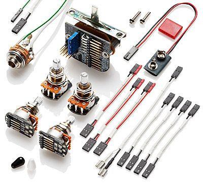 EMG Solderless Wiring Kit for 3 Pickups - COMPLETE