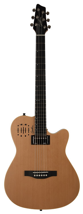 Godin A6 Ultra Acoustic Electric 6 String Natural HG with Bag