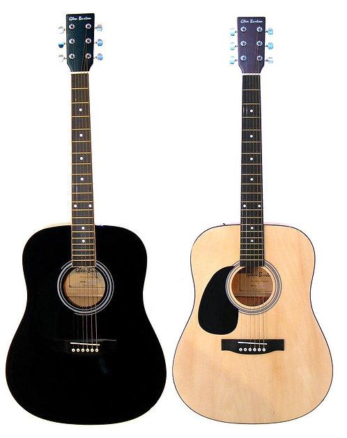Glen Burton Dreadnought Acoustic Guitar Left Handed