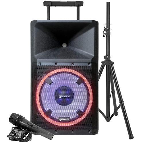 GEMINI GSP-L2200PK: Ultra Powerful Bluetooth 2200 Watt Peak Speaker