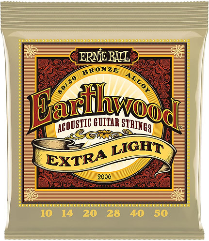 Ernie Ball Earthwood 80/20 Bronze Acoustic Strings