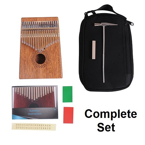 Kalimba (Solid Mahogany) Includes Accessories