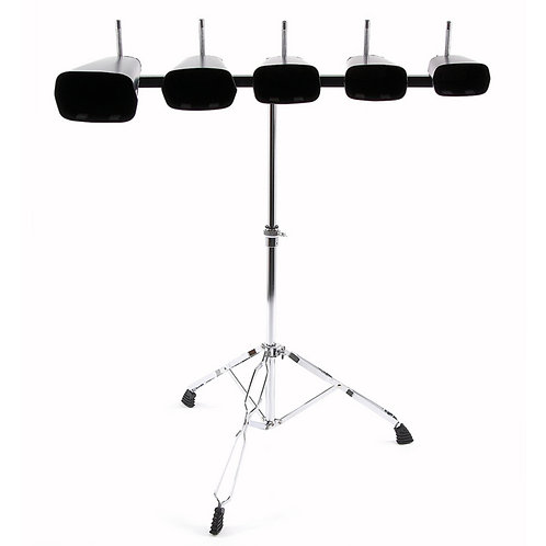 Cowbell Set with Stand