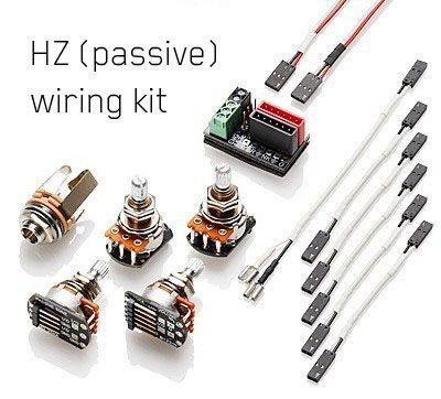 EMG Solderless Wiring Kit for 1 or 2 Pickups - HZ (PASSIVE)