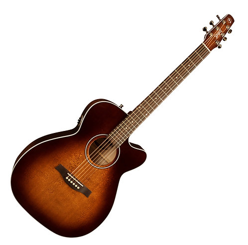 Seagull Performer CW CH Burnt Umber QIT Cutaway Acoustic Electric Guitar