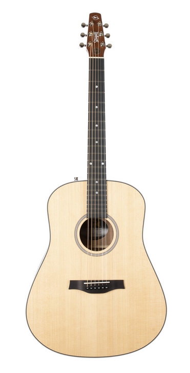 Seagull 048090 Maritime SWS Acoustic Electric Guitar-Natural Made In Canada
