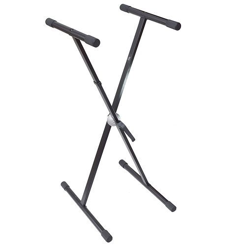 Foldable X Keyboard Stand with Tooth Lock