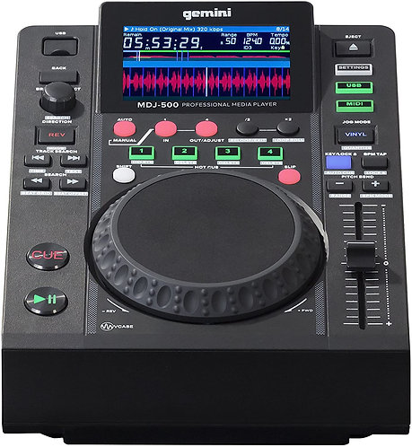MDJ-500 Professional DJ USB Media Player