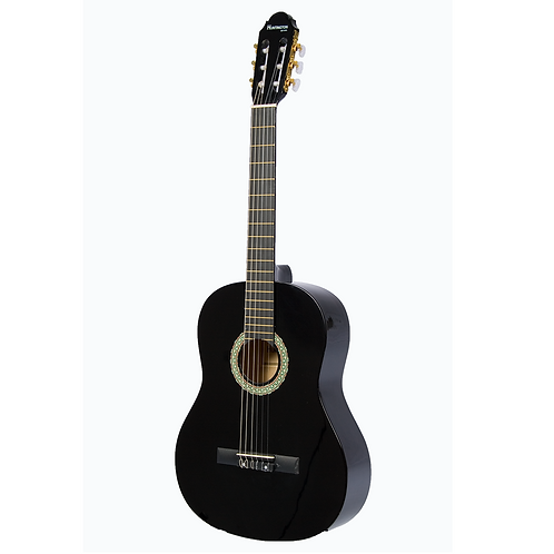 Huntington 39-BLACK Full Size Classical Guitar