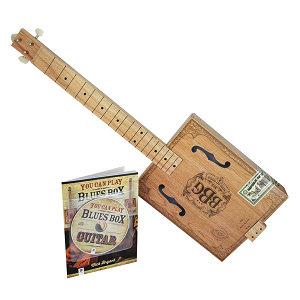 3 String Electric Blues Box Slide Guitar Kit