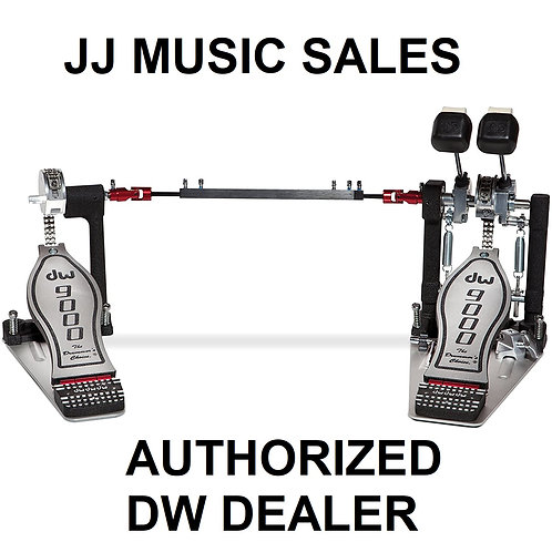 DRUM WORKSHOP DW-9002 Double Bass Drum Pedal (INCLUDES TRAVEL BAG)