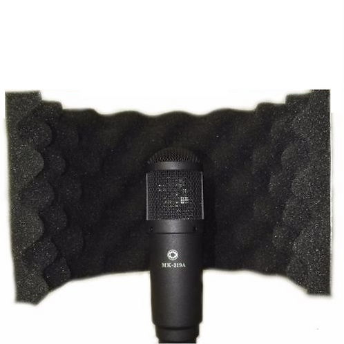 Portable Vocal Booth Microphone Shield Isolation