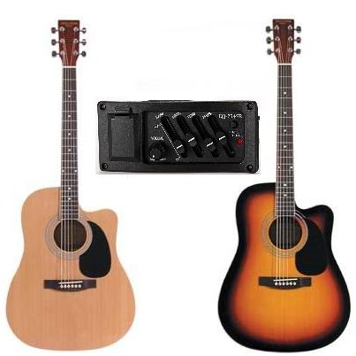 Stadium 42EQ Acoustic/Electric Guitar
