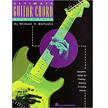 Ultimate Guitar Chord Users Guide Book