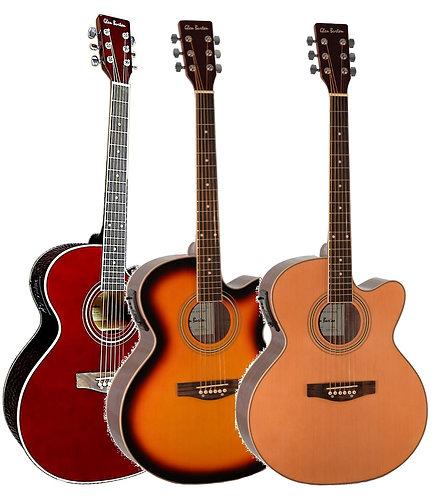 Glen Burton 6 String Jumbo Acoustic Electric Cutaway Guitar