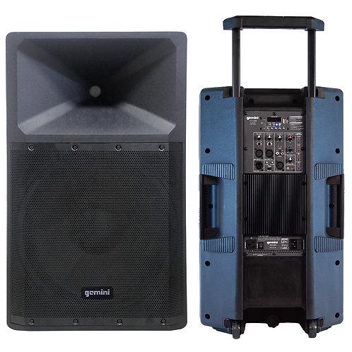 GEMINI GSP-2200: Ultra Powerful Bluetooth 2200 Peak Watt Speaker
