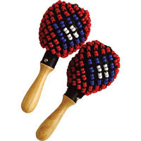 Tycoon Percussion TMPB-B Beaded Maracas