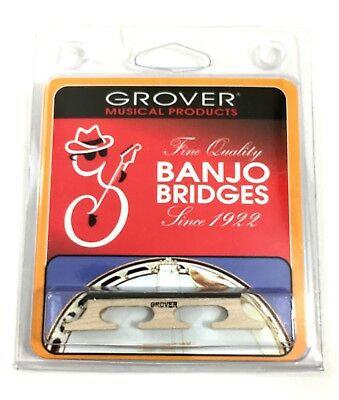 "Tenor Banjo Bridge 1/2"" by Grover (German Made)"