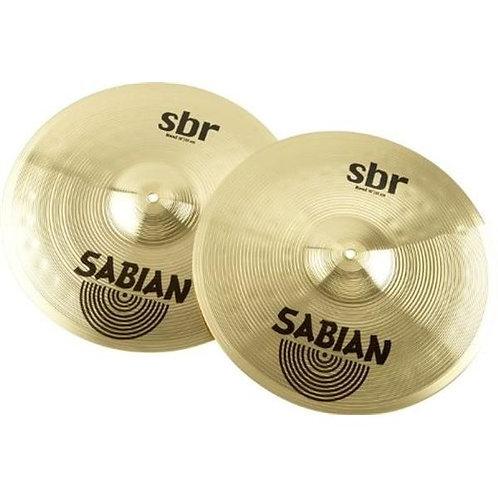 """Sabian Sbr 14"""" Pair Hi-Hat Cymbals"""
