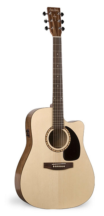 Simon & Patrick Woodland CW Spruce A3T 6 String RH Acoustic Electric Guitar